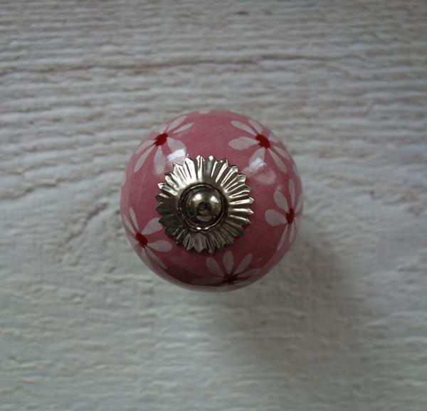 Bild von Floraler Möbelknopf
