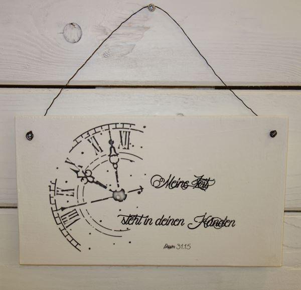 Bild von Zeit-Schild
