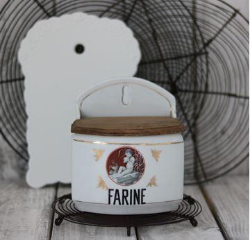 Bild von Antiker Mehlbehälter Porzellan
