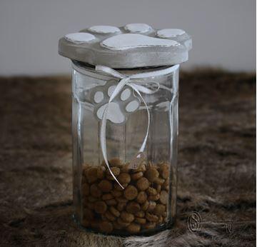 Bild von Vorratsglas Riesenpfote gross