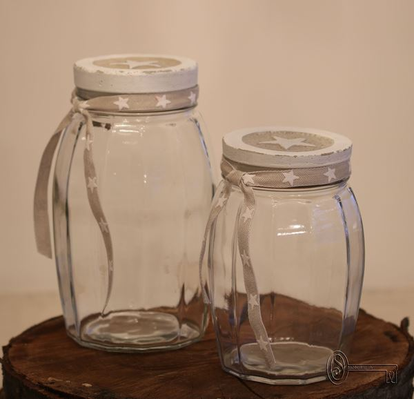 Bild von Vintage-Glas mittelgross