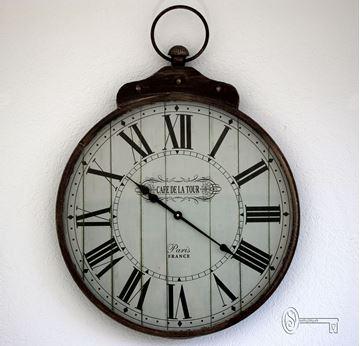 Bild von Vintage-Uhr gross